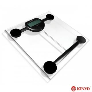 【KINYO】晶透電子體重計(DS-6576)