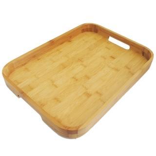 【山本水源】竹製托盤-大-1入