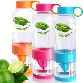 玻璃鮮活隨手瓶/檸檬瓶(超值2入)