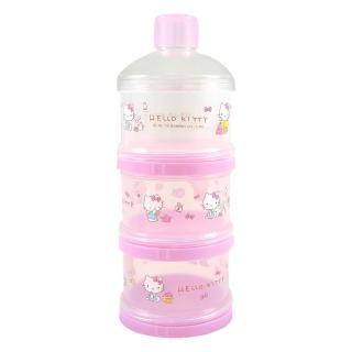 【HELLO KITTY】三層保潔蓋奶粉盒