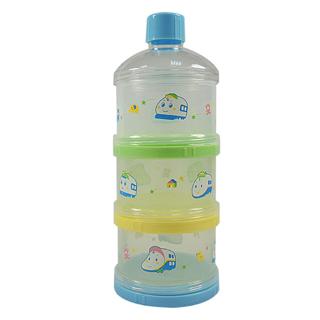 【新幹線】三層保潔蓋奶粉盒