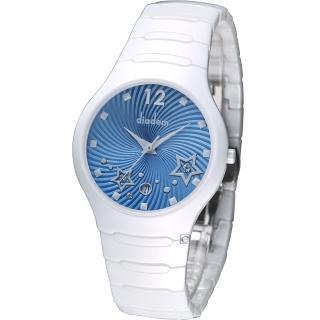 【Diadem】黛亞登 魔幻星空陶瓷時尚腕錶(9D1407-541SD-B)