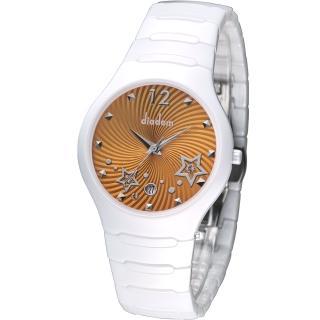 【Diadem】黛亞登 魔幻星空陶瓷時尚腕錶(9D1407-541SD-O)