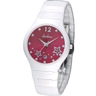 【Diadem】黛亞登 魔幻星空陶瓷時尚腕錶(9D1407-541SD-R)