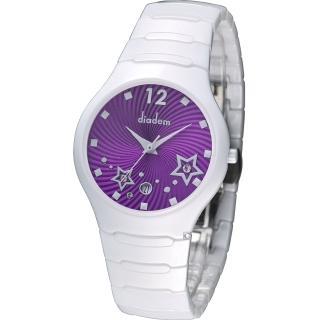 【Diadem】黛亞登 魔幻星空陶瓷時尚腕錶(9D1407-541SD-V)