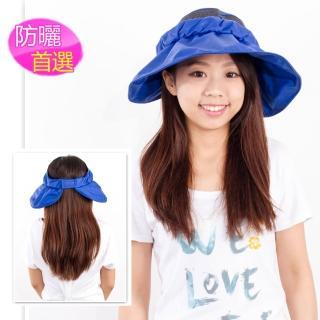 【戀夏好物】韓版遮陽帽(藍)