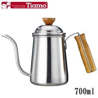 【Tiamo】1403滴漏式細口壺 700ml-砂光款(HA1653)