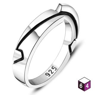 【ART64】戒指 追尋 純銀戒指(男款)