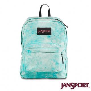 【Jansport】25L 丹寧風格後背包(冰原藍)
