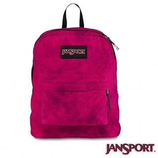 【Jansport】25L 丹寧風格後背包(神祕紫)