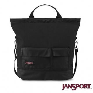 【Jansport】38L BRODERICK 15 校園肩背包(爵士黑)