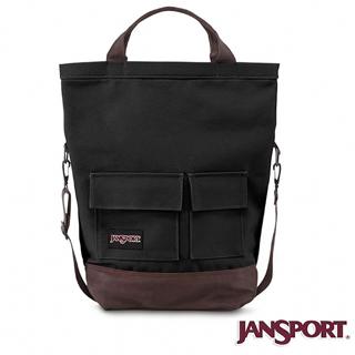 【Jansport】Jansport 25L BRODERICK 校園肩背包(黑色)