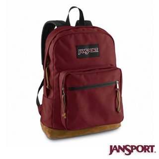 【Jansport】31L經典校園後背包(聖誕紅)