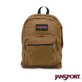 【Jansport】31L 懷舊校園後背包(麥褐色)