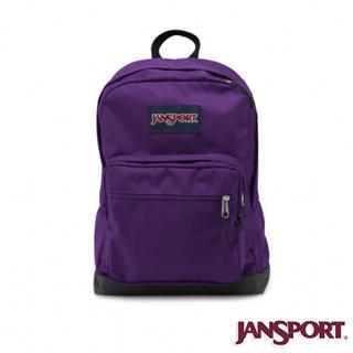【Jansport】31L CITY SCOUT 校園後背包(黑夜紫)