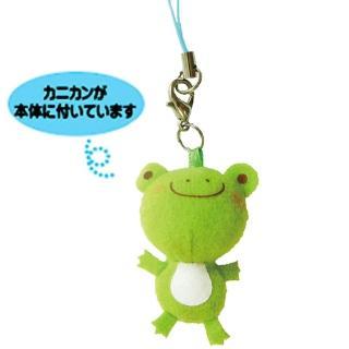 【UNIQUE】動物樂園迷你公仔吊飾(小蛙君)