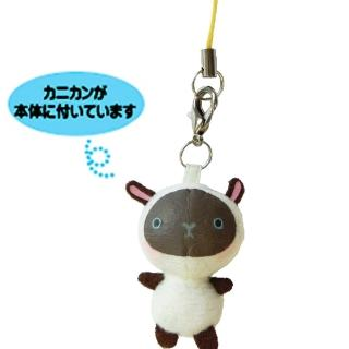 【UNIQUE】動物樂園迷你公仔吊飾(黑面羊)