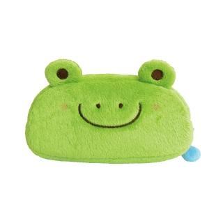 【UNIQUE】動物樂園毛絨筆帶(小蛙君)