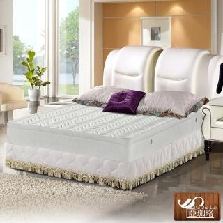 【亞珈珞】3M防潑水蜂巢式三線獨立筒床墊5X6.2尺(雙人)