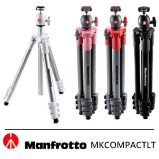 【Manfrotto】MKCOMPACTLT COMPACT系列 輕巧旅行腳架(131cm)