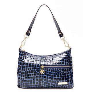 【Ve vitalise】時尚高雅經典名牌包(寶藍色)
