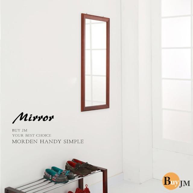 【BuyJM】古典實木壁鏡-穿衣鏡(90-40公分)