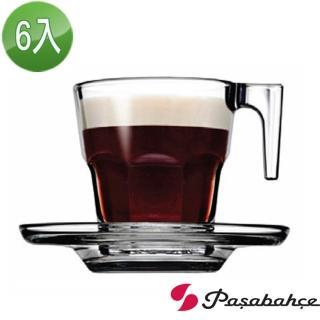 【土耳其Pasabahce】濃縮咖啡杯盤75cc(六套組)