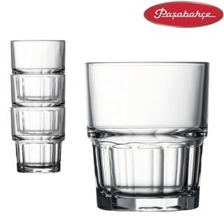 【土耳其Pasabahce】強化可疊式水杯200cc(12入組)