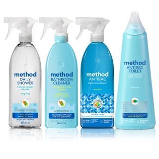 【Method 美則】浴廁天然清潔劑_輕鬆玩樂4件組