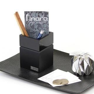 【finara費納拉】精品衛浴配件-漱口杯(黑色西武)
