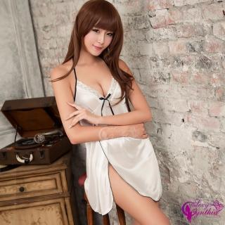 【Sexy Cynthia】柔情魅影!無暇柔緞睡衣