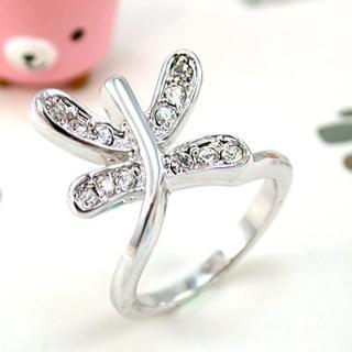 【伊飾童話】晶鑽蜻蜓*為愛輕停戒指