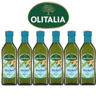 【Olitalia奧利塔】超值玄米油禮盒組(500mlx6瓶)