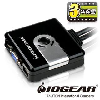 【IOGEAR】2埠 VGA USB KVM多電腦切換器(GCS42UW6)