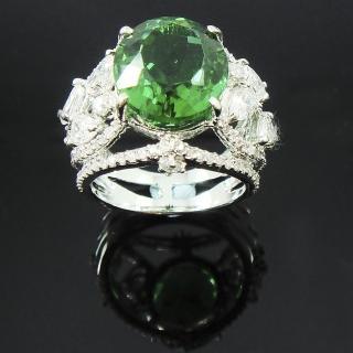 【蕾帝兒珠寶】自然美綠曜戒