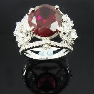 【Celosa珠寶】-自然美紅寶戒