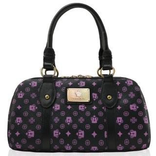 【Dennibella 丹妮貝拉】紫色皇冠時尚雙鍊優雅提包(4D115105-7)
