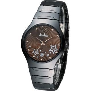 【Diadem】黛亞登 魔幻星空陶瓷時尚腕錶(9D1407-541DD-C)