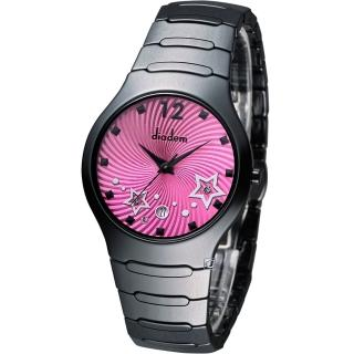 【Diadem】黛亞登 魔幻星空陶瓷時尚腕錶(9D1407-541DD-R)
