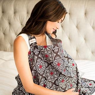 【Bebe Au Lait】時尚媽咪 哺乳巾/餵奶巾/授乳巾 - Amalfi 款 #3CBAML(1入)