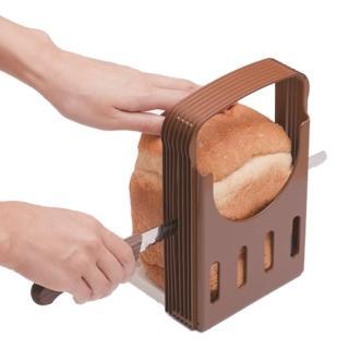 【KOKUBO】日本製吐司切片模+高級麵包刀-2件組