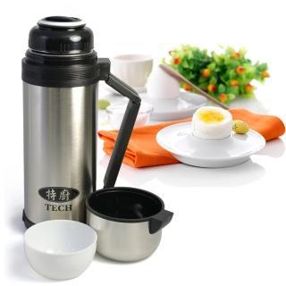 【TECH】大容量304不鏽鋼燜燒罐/保溫杯(1500cc)