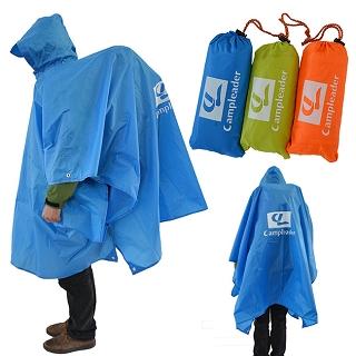 【韓國CampLeader】三用多功能戶外登山雨衣(三色任選)