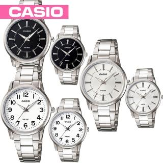 【CASIO 卡西歐】送禮首選-甜蜜情人對錶款(MTP-1303D+LTP-1303D)