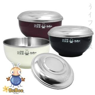 【香醇】不銹鋼雙層隔熱碗-塑膠蓋-14cm×4組