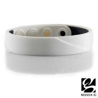 【MASSA-G】ARC Solo-White 鍺鈦手環