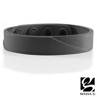 【MASSA-G】ARC Solo-Black 鍺鈦手環