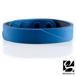 【MASSA-G】ARC Solo-Royal Blue 鍺鈦手環