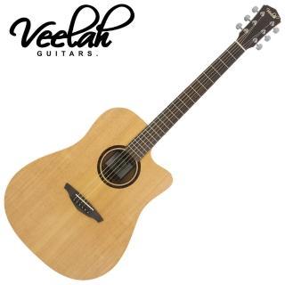 【VEELAH】V1-DC 民謠吉他(隨琴附贈琴袋背帶以及彈片)