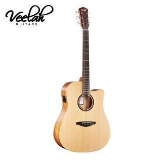 【VEELAH】V1-DCE 電民謠吉他(搭配知名拾音器Fishman拾音器)
